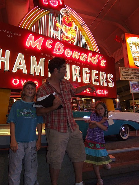 first ever mcdonalds sign, henry ford museum